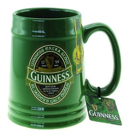 Guinness Guinness Ceramic Tankard: Green