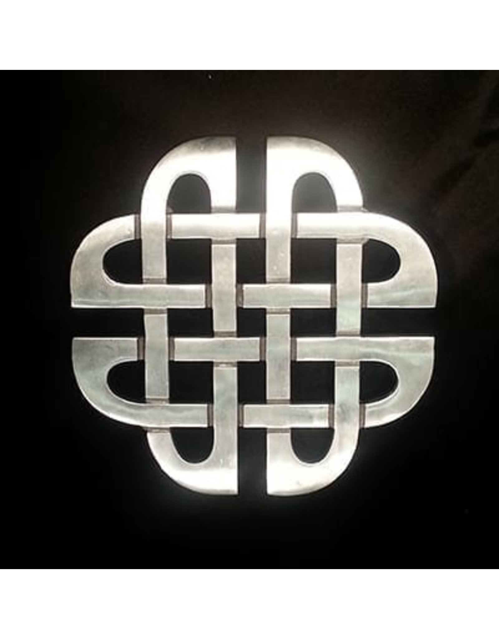 Scott's Highland Metal Trivet:  Celtic Knot