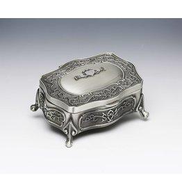 Mullingar Pewter Mullingar Pewter Claddagh Jewelry Box: LG