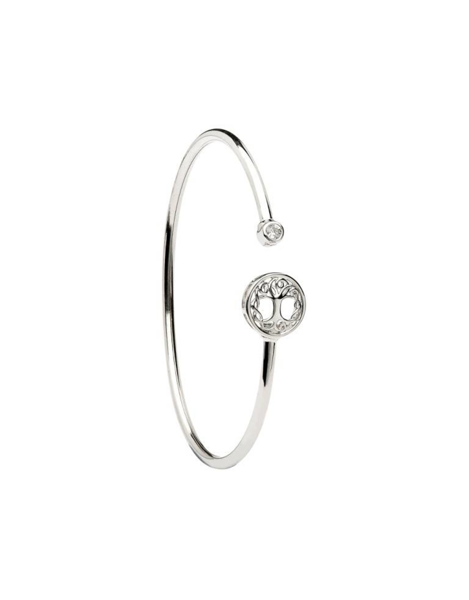 Shanore Silver Tree Of Life Bangle