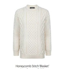 Ireland's Eye Honeycomb Stitch Sweater