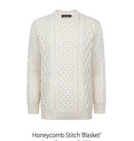 Ireland's Eye Honeycomb Stitch Sweater