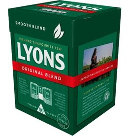 Lyons Lyons Original Blend Tea Bags 80s Box