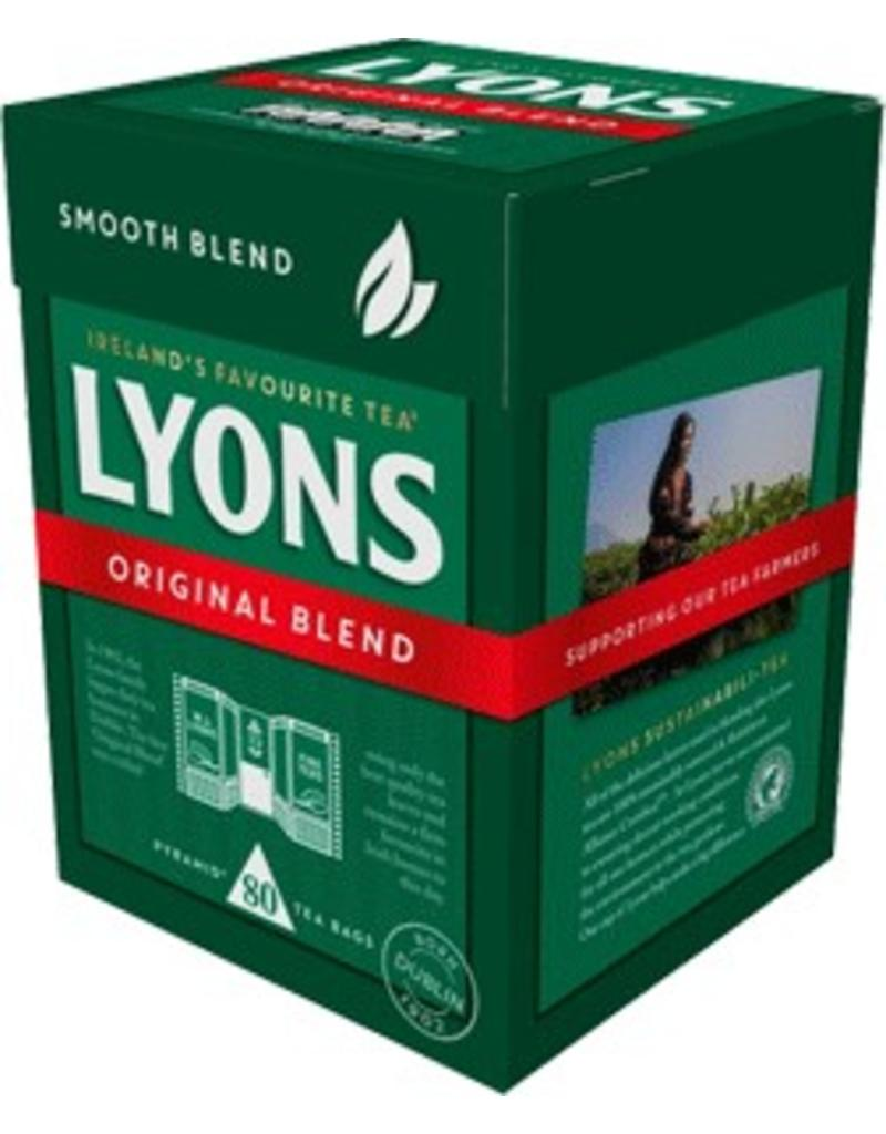 Lyons Lyons Original Blend Tea Bags 80s Box