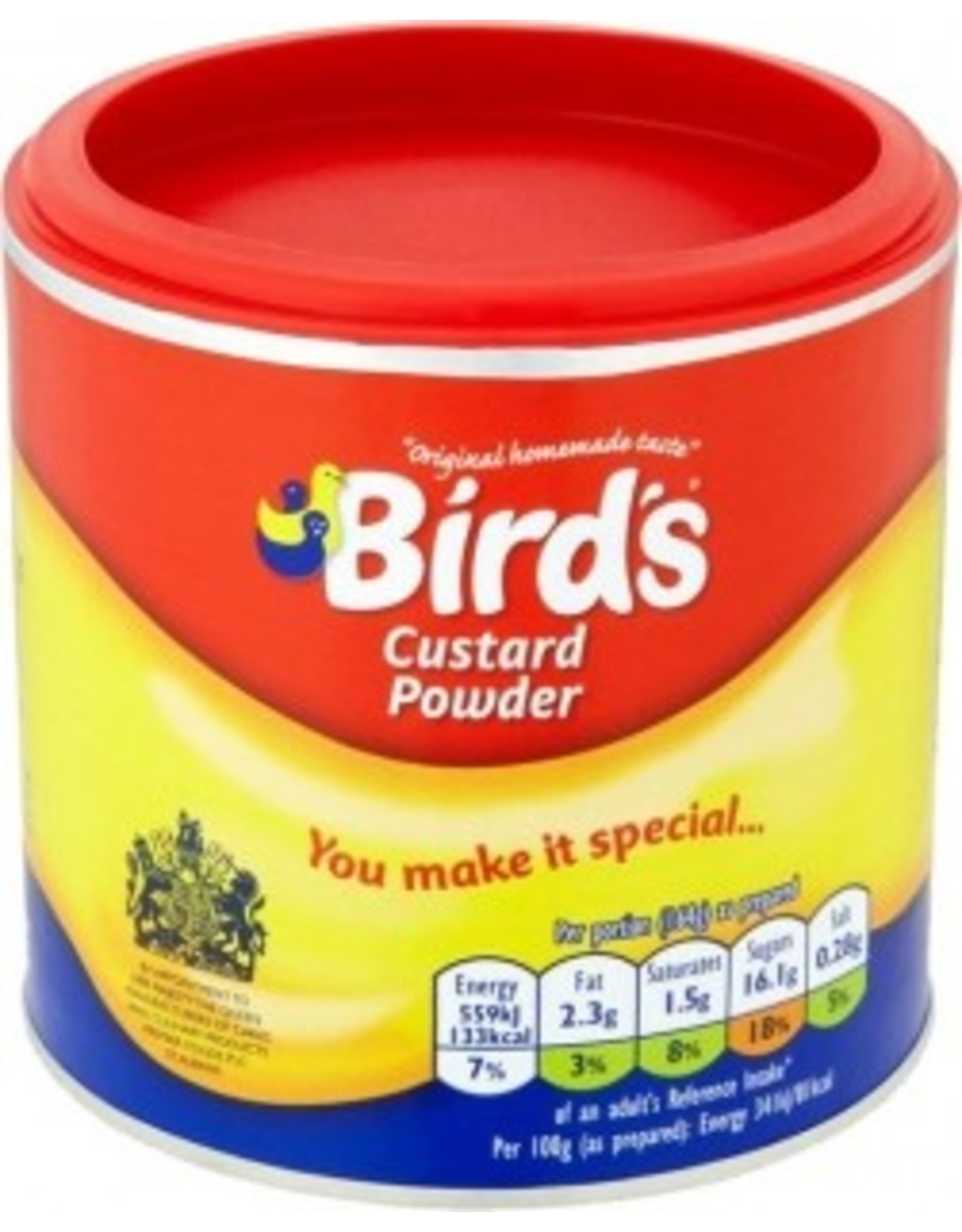 Birds Birds Custard Drum 300g