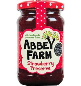 Abbey Farm Abbey Farm Strawberry Jam 340g (12oz) x6