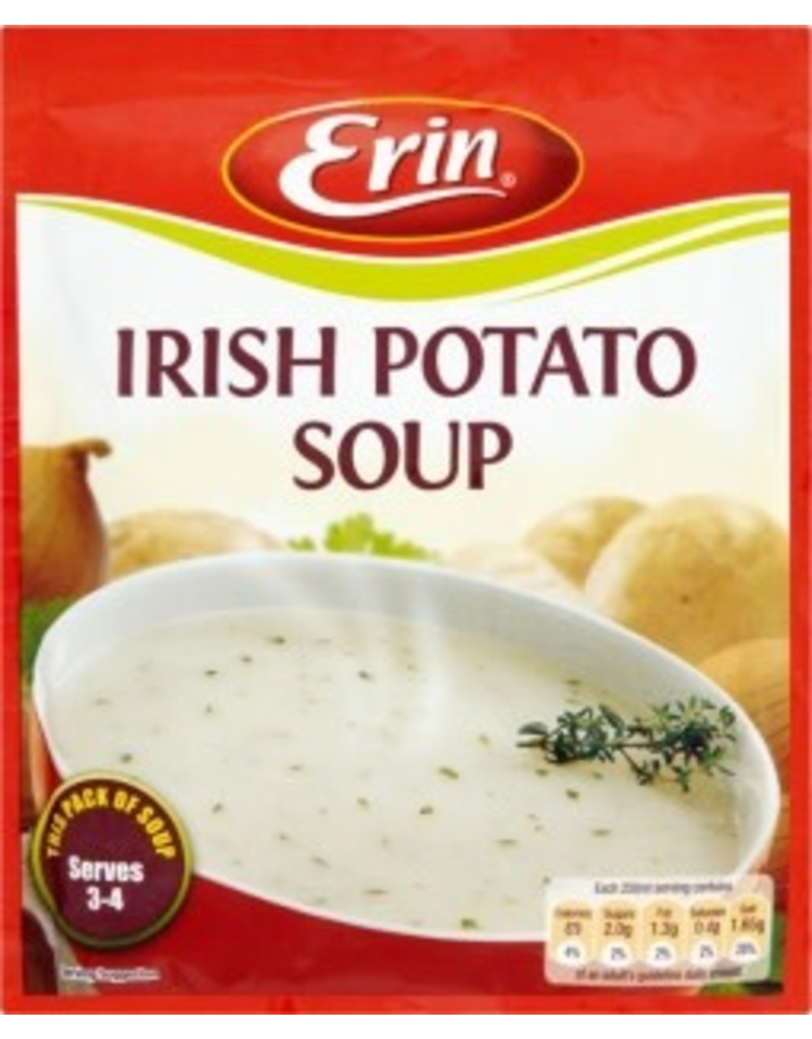 Erin Irish Potato Soup 84g Packet