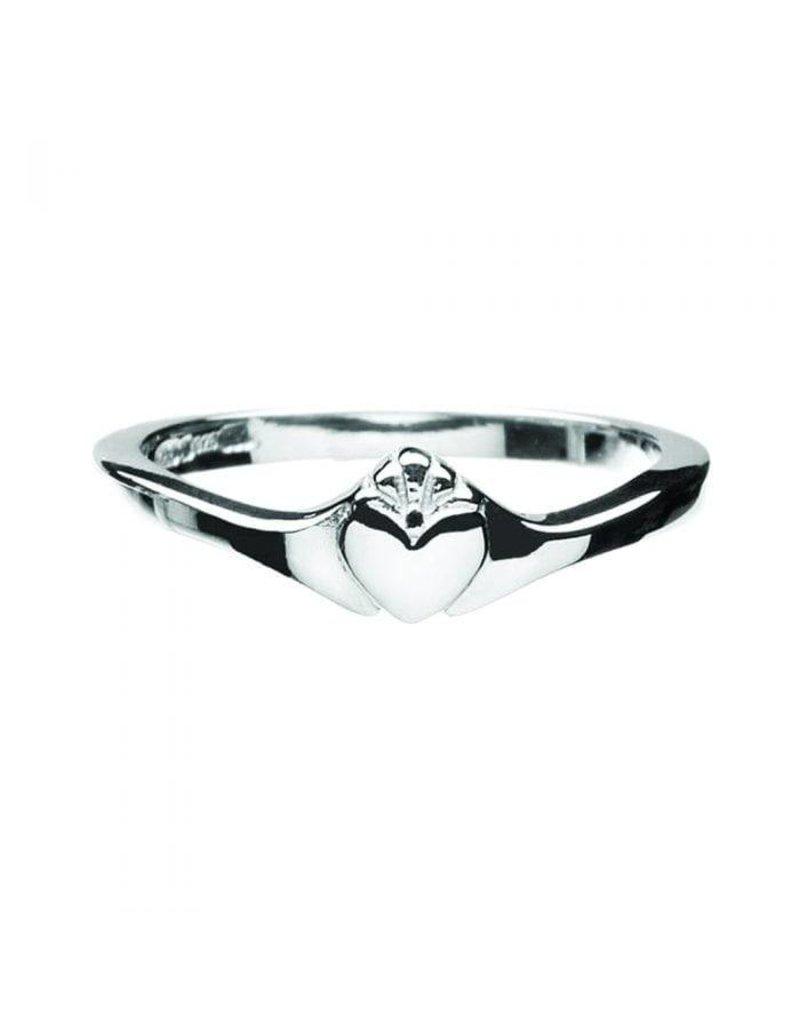 Boru Jewelry Contemporary Claddagh Ring