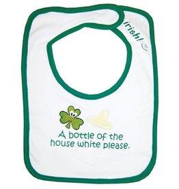 Bottle of the House White Bib