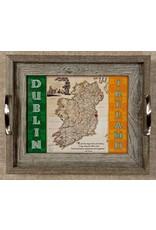 Mundo Images Small Tray: Vintage Ireland Map *Custom*