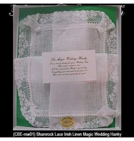 CBE, Inc. Magic Wedding Hankie - Irish Linen