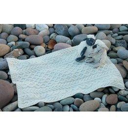 Aran Woollen Mills Aran Baby Blanket