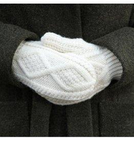 Aran Woollen Mills Handknit Aran Mittens