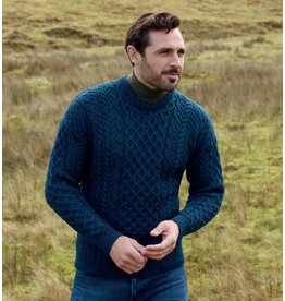 Aran Woollen Mills Aran Crew-neck Sweater