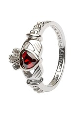 Shanore January Birthstone Claddagh Ring