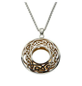 Keith Jack Silver + 22k Window to Soul Necklace