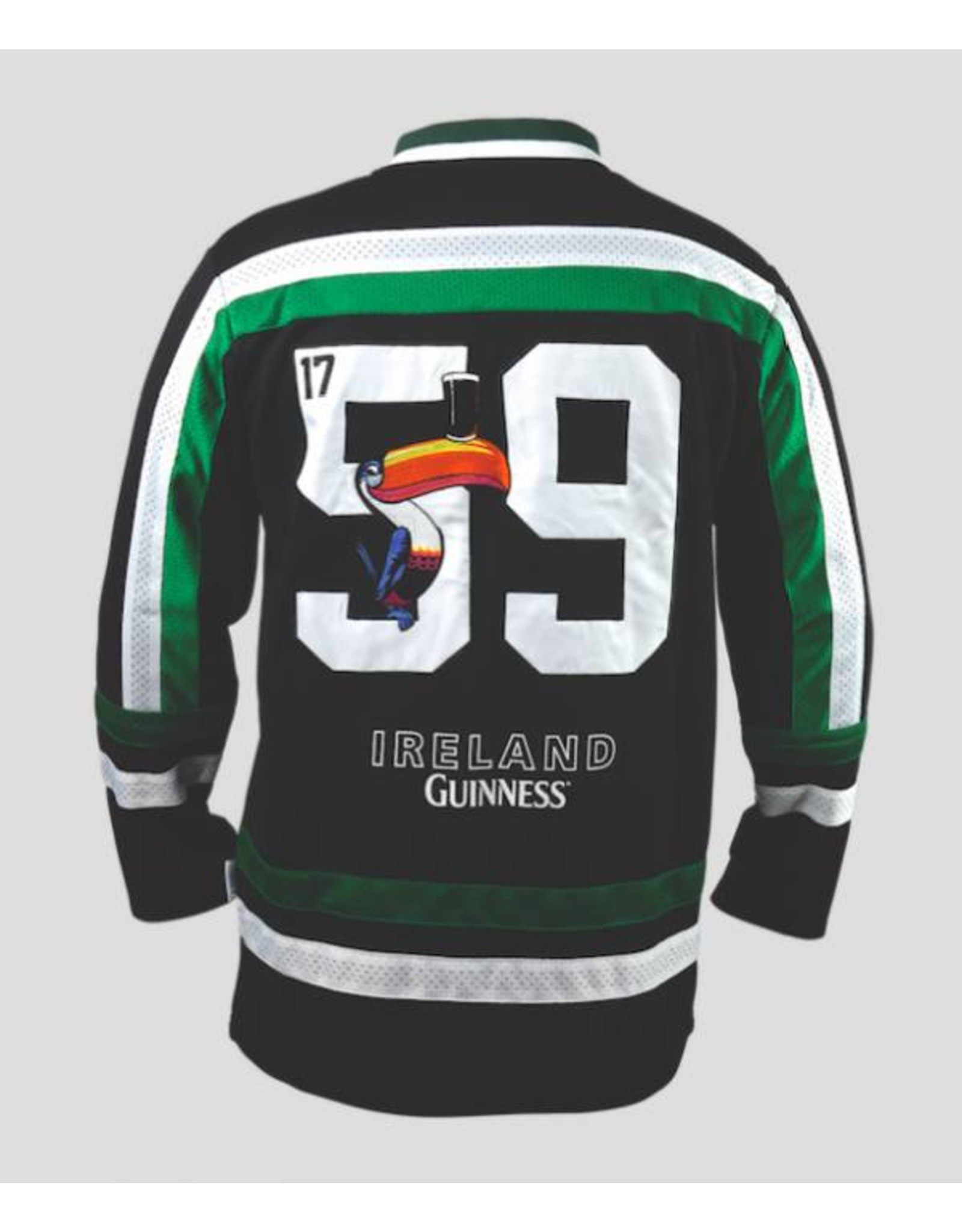 Guinness Guinness Toucan Hockey Jersey Black & Green