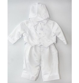 Bridgets of Erin Christening Suit with Shamrocks
