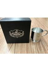 Mullingar Pewter Baby Christening Cup:  Shamrock