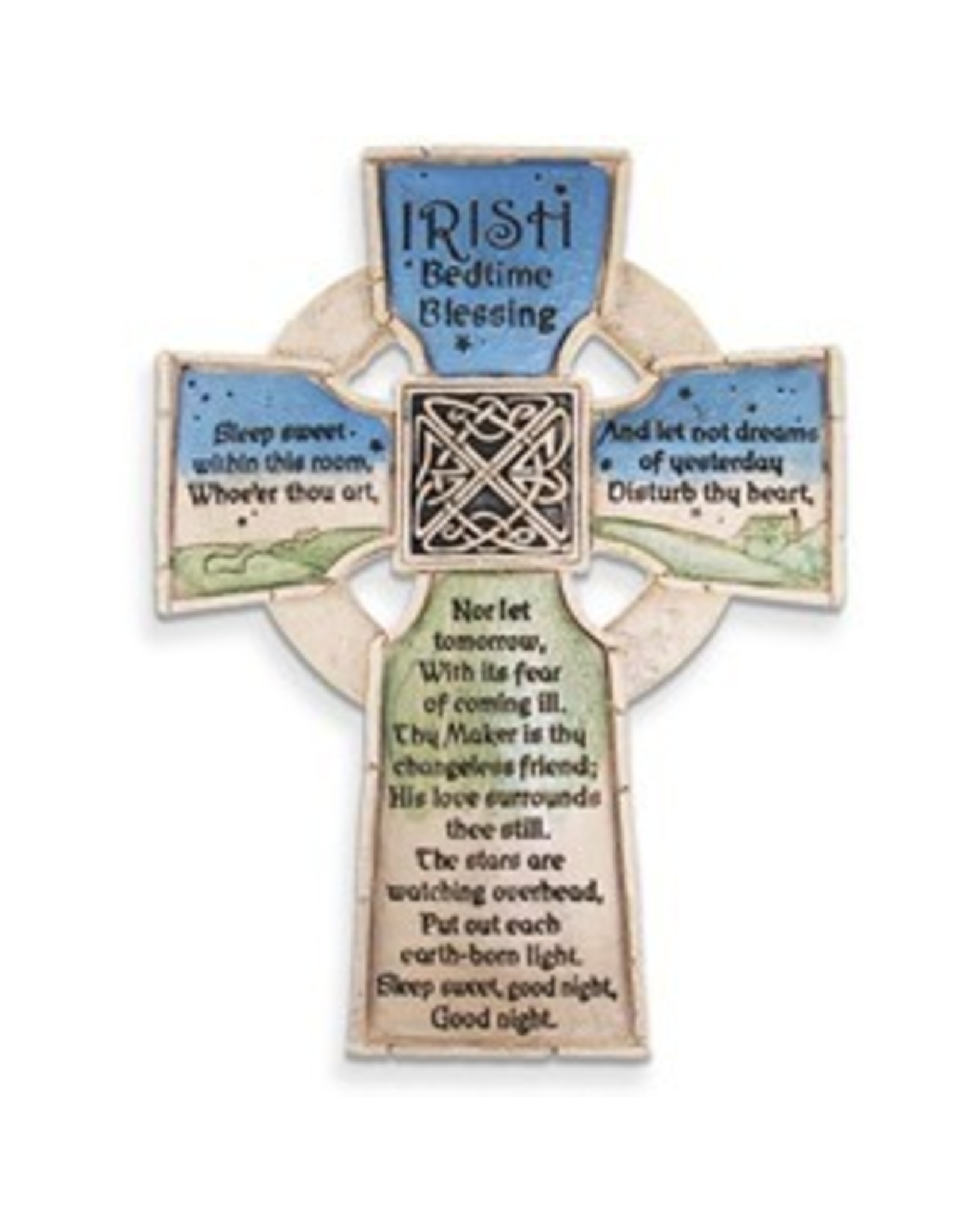 Abbey Press Irish Bedtime Blessing Cross