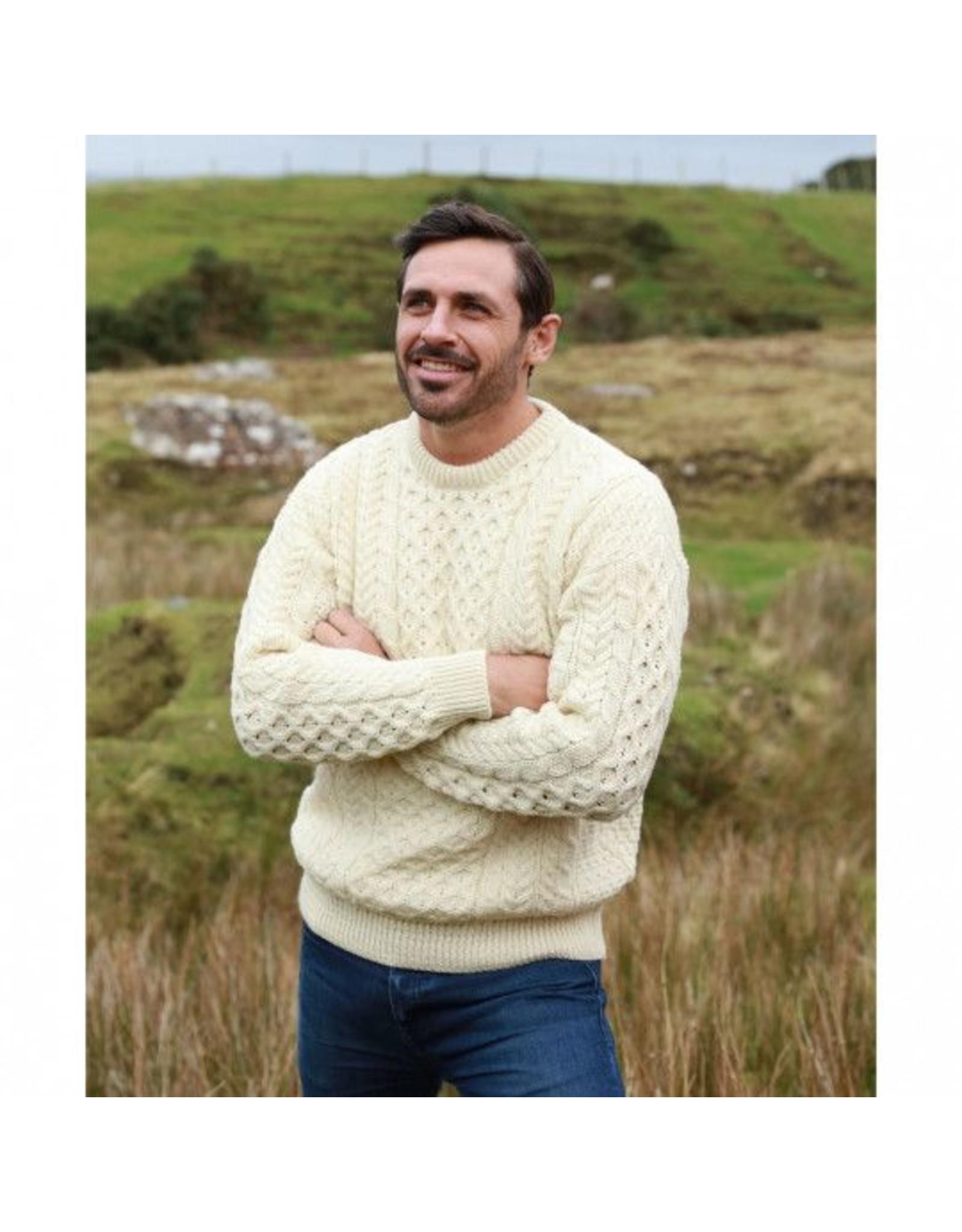 Aran Woollen Mills Irish Aran Sweater *More Colors*