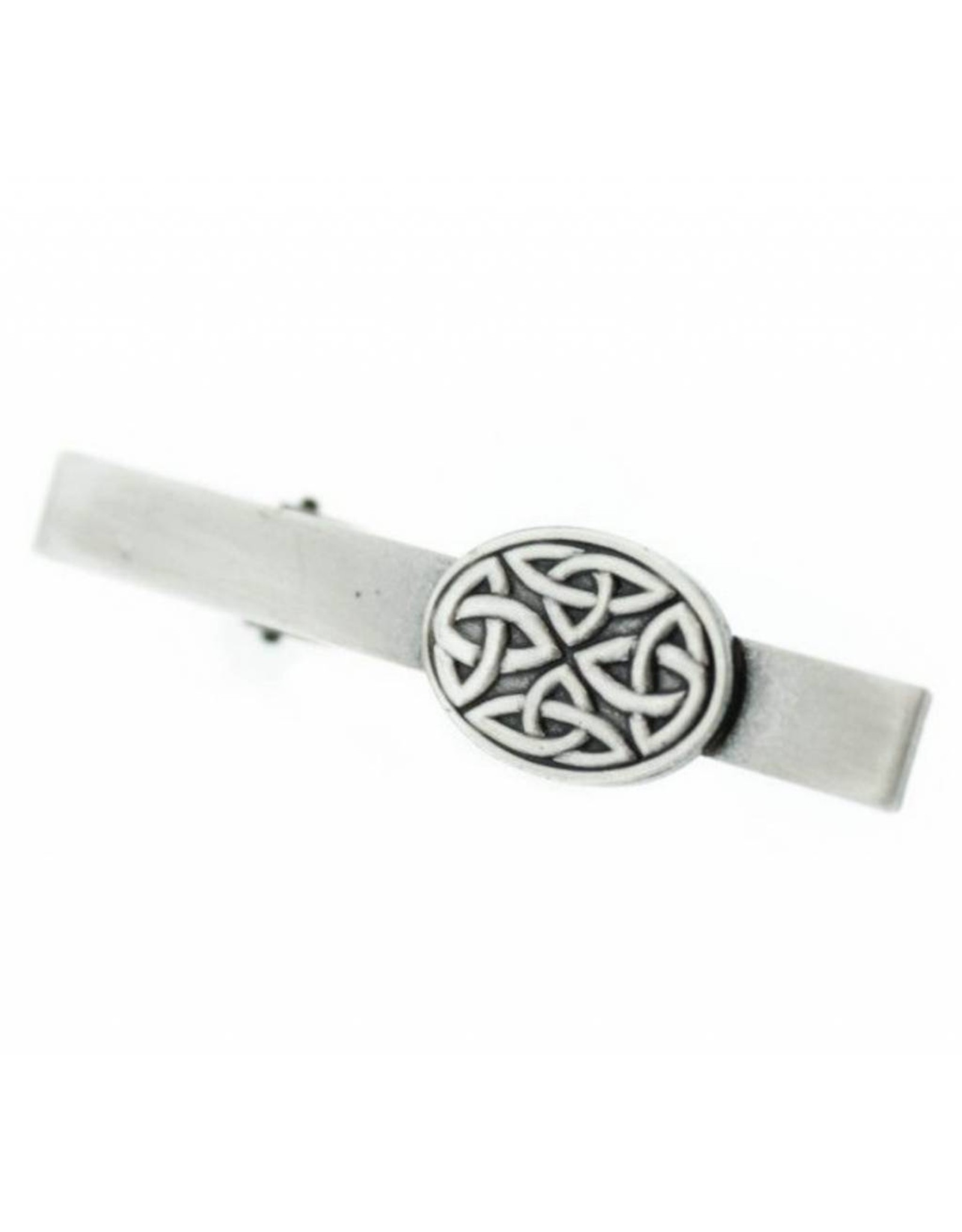 Hamilton & Young Celtic Oval Pewter Tiebar