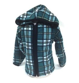 Scott's Highland Kid's Fleece Tartan Jacket