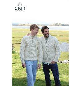 Aran Woollen Mills Aran 1/4-Zip Sweater
