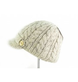 Erin Cable Aran Peak Hat