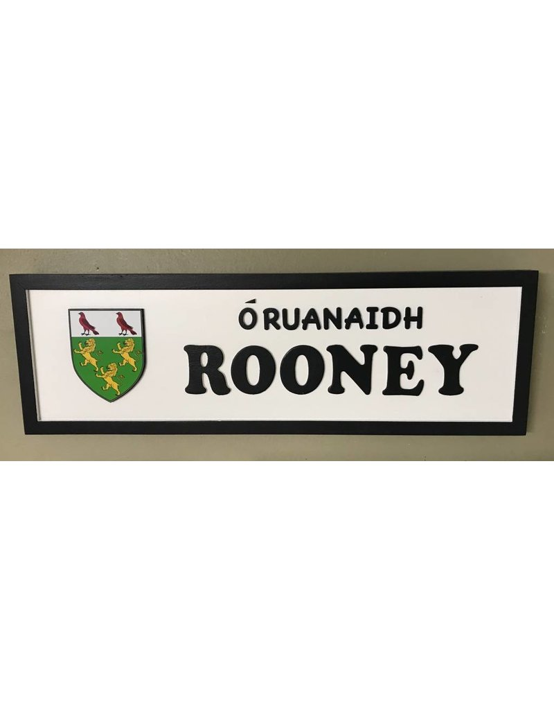Memories of Ireland Custom Irish Road Sign