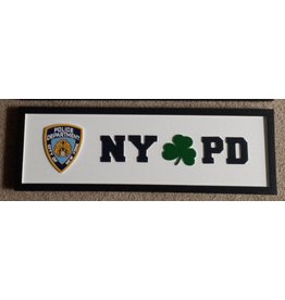 Memories of Ireland Rectangular Road Sign:  NYPD