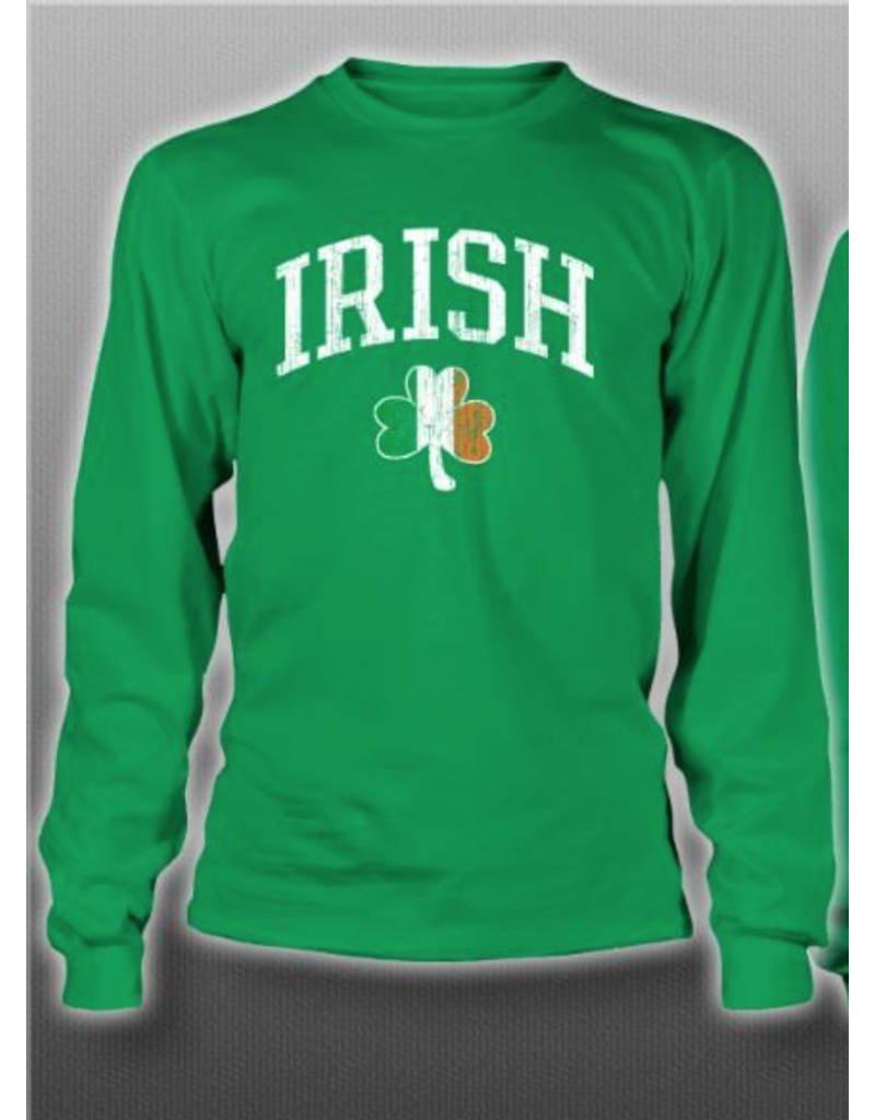 c4bffdeae Irish + Tri-color Shamrock Long-sleeve - Celtic Aer Gift Shop