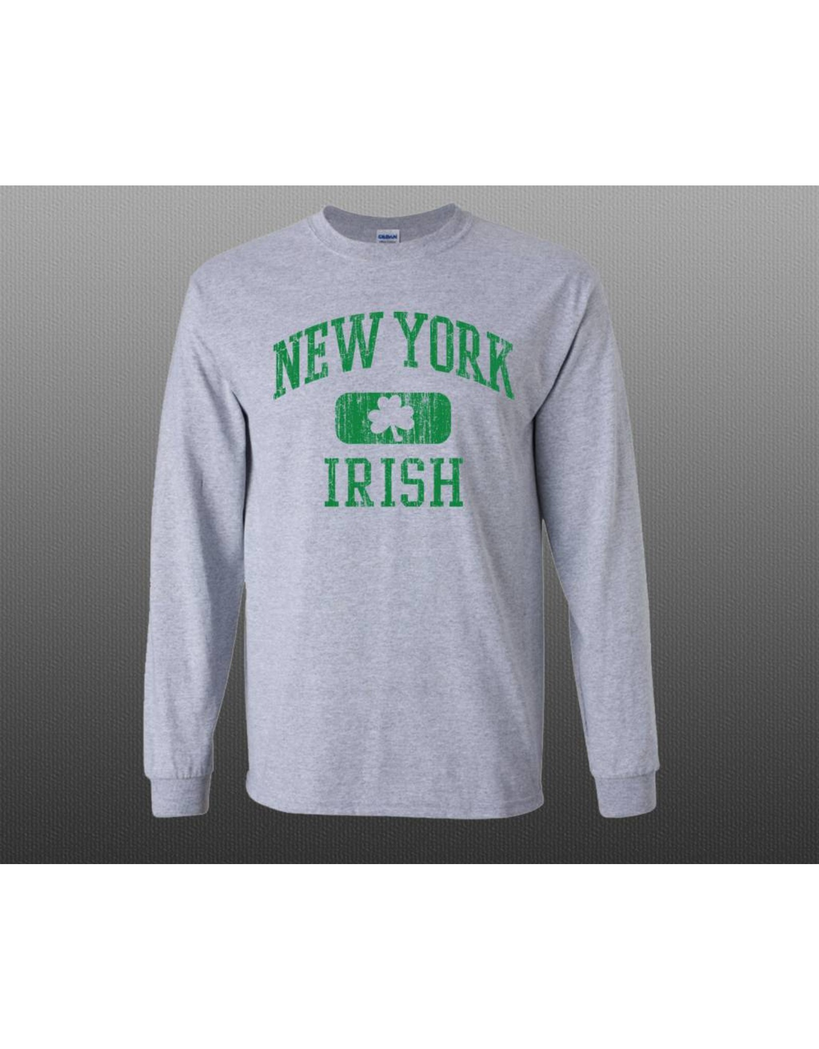 Coastal Tees Youth New York Irish Long-sleeve Shirt