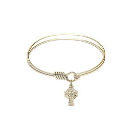 Bliss Bangle with Celtic Cross
