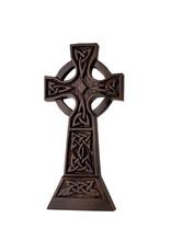 """Black Bog Collection Black Bog Celtic Cross 10.5"""""""