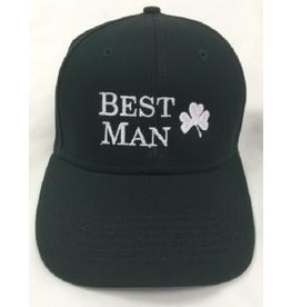 Bridgets of Erin Best Man Hat w/ Shamrock