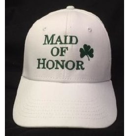 Bridgets of Erin Maid of Honor Cap w/ Shamrock