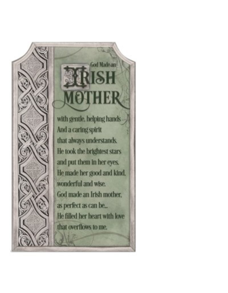 Abbey Press Irish Mother Plaque w/Easel/Hanging