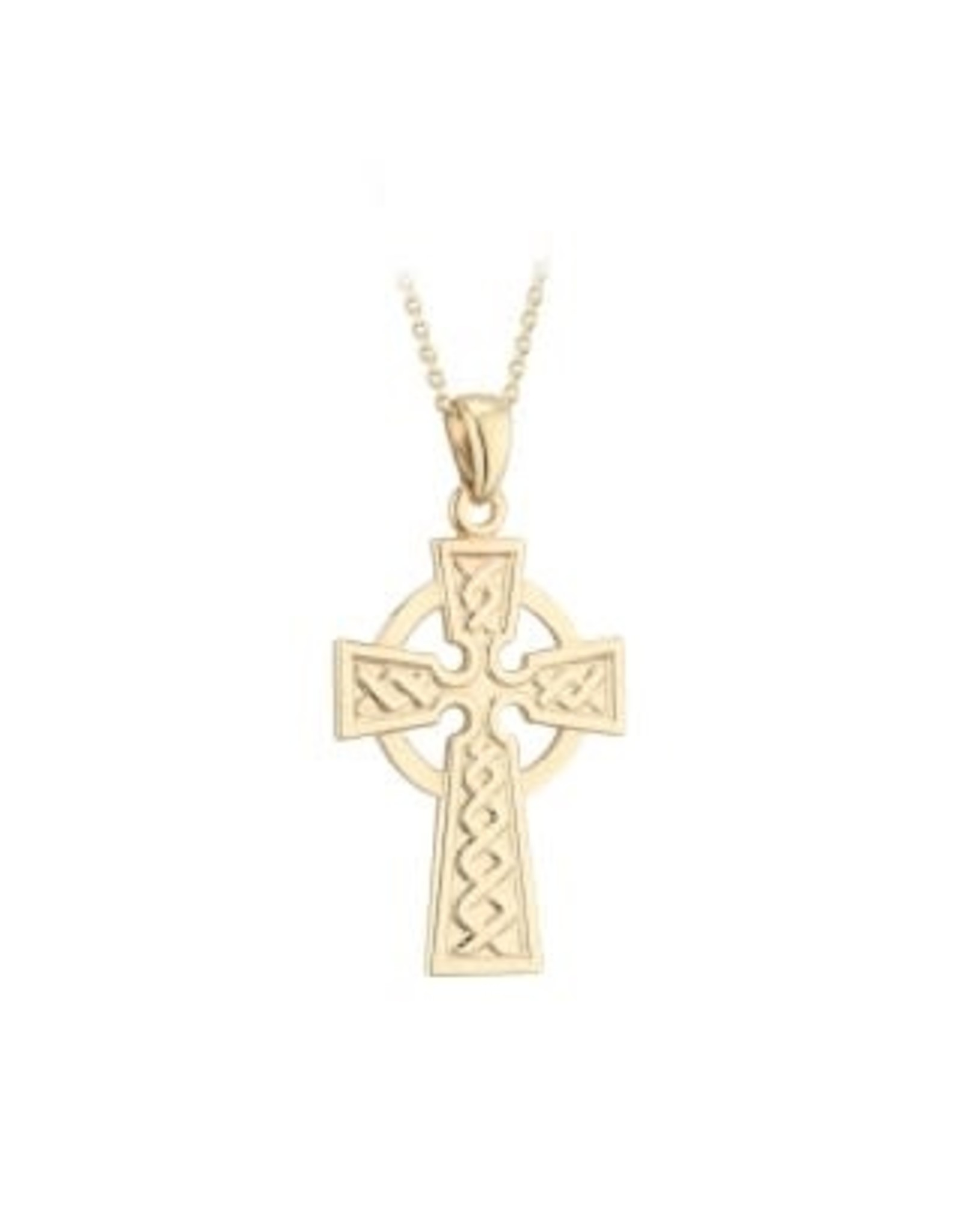 Solvar 10k Gold Celtic Cross