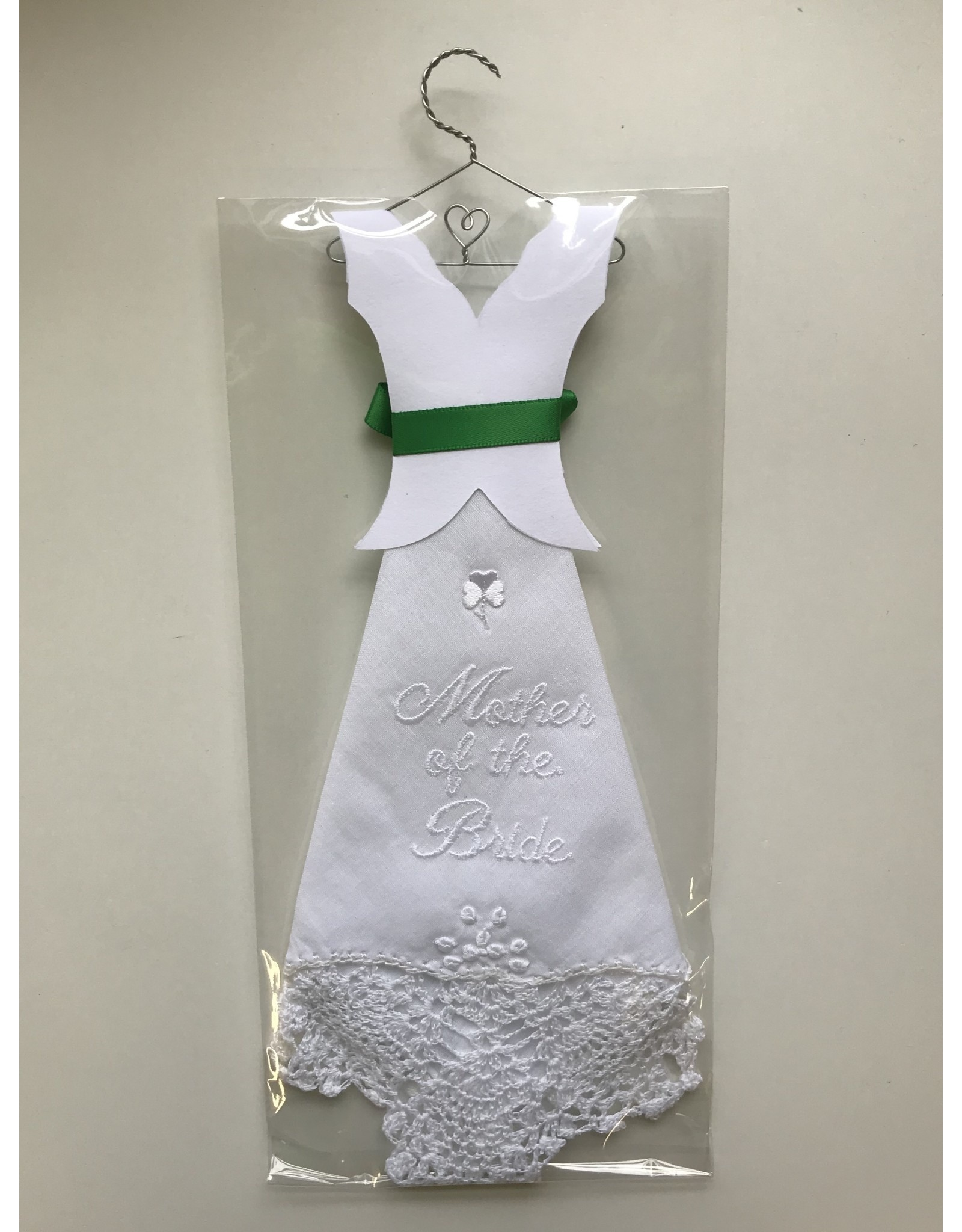 Simply Charming Hankie on Hanger: Mother of Bride