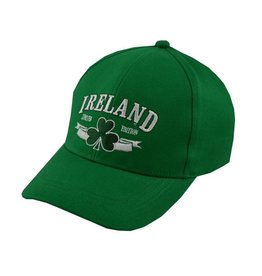 Traditional Craftwear Green Ireland Kids Baseball Cap