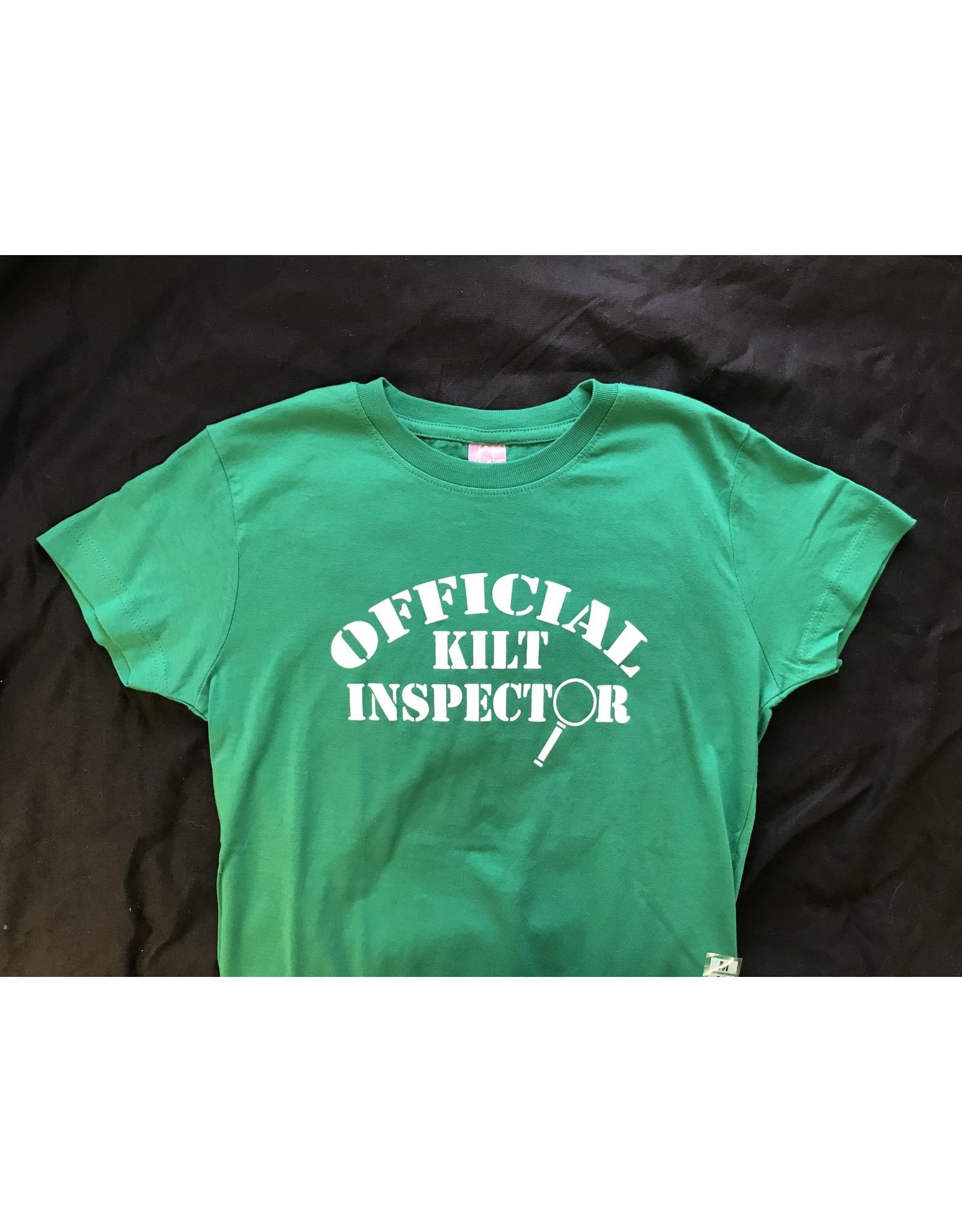 Irish ASAP Ladies Official Kilt Inspector T-Shirt