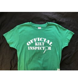Irish ASAP Ladies Official Kilt Inspector T-Shirt