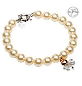 Shanore Shamrock Pearl Bracelet