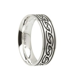 Boru Jewelry Celtic Waves Wide Comfort Fit Band
