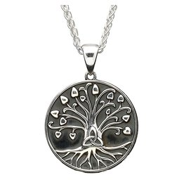 Shanore Oxidized Silver Tree of Life Pendant