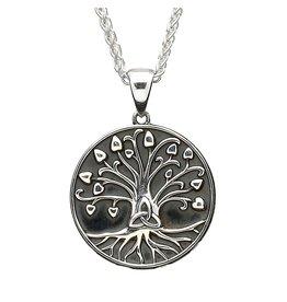 Shanore Tree of Life Pendant (Oxidized)