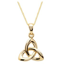 Shanore 10k Gold Trinity Necklace