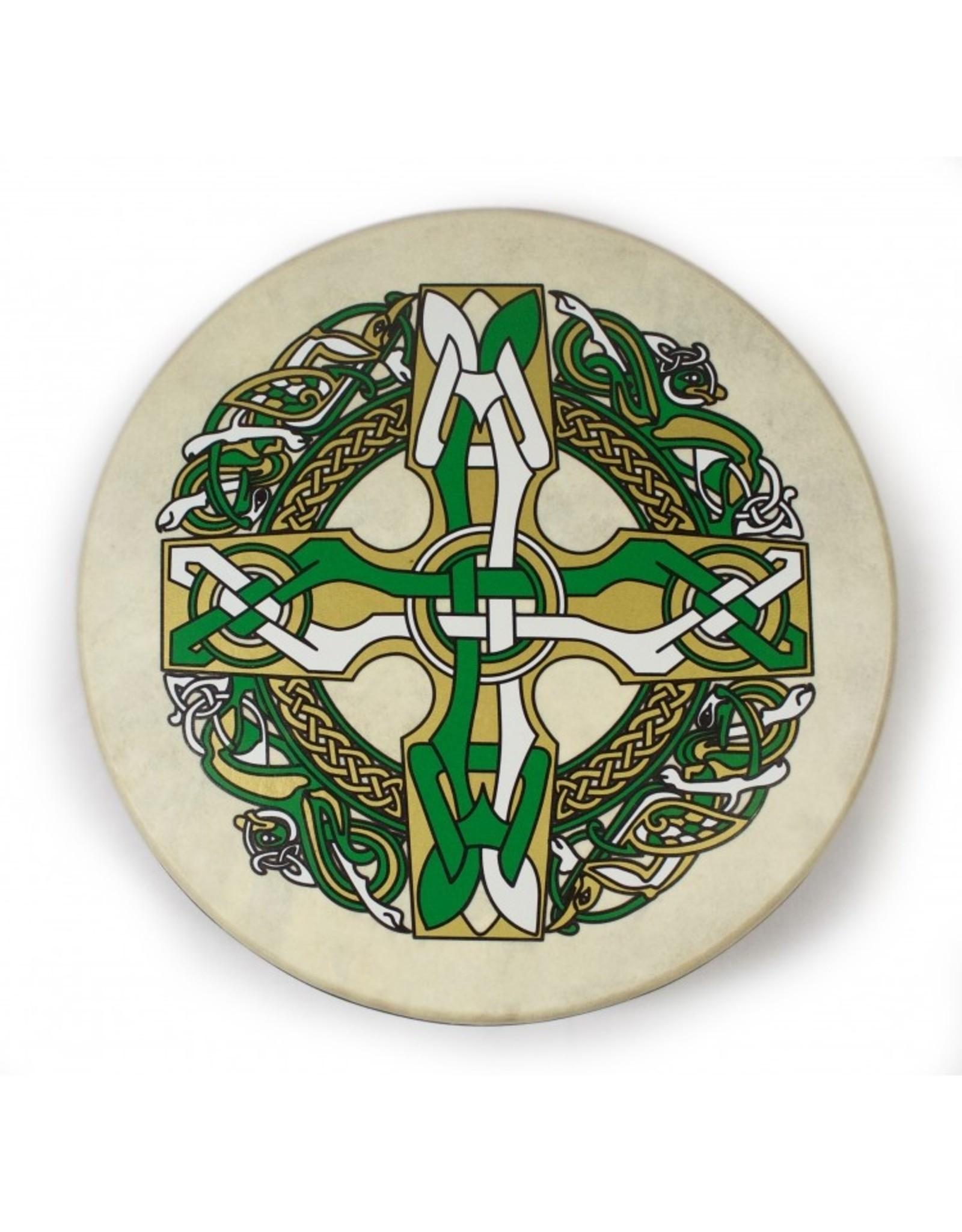 "Waltons Waltons 15"" Bodhran Celtic Burn 1"