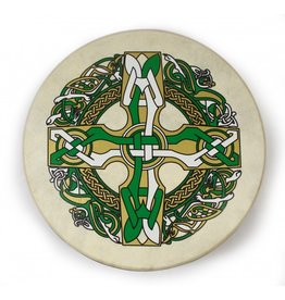 "Waltons Waltons 15"" Bodhran Celtic Cross"